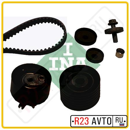 Комплект KIT ГРМ INA 530 0092 10 (ролики 532022110, 531040930+ ремень CT1126) RENAULT