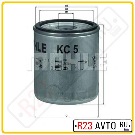 Топливный фильтр KNECHT KC5