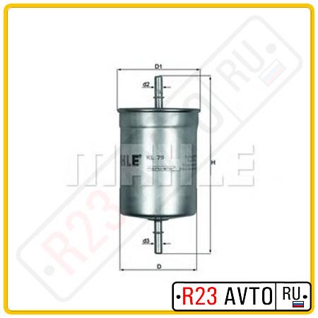 Топливный фильтр KNECHT KL79