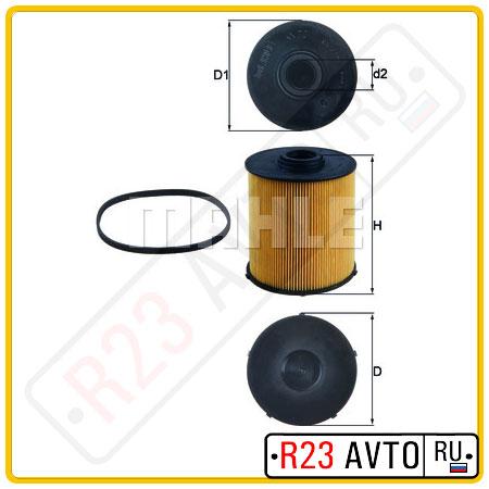 Топливный фильтр KNECHT KX70D