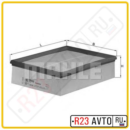 Воздушный фильтр KNECHT LX593/1