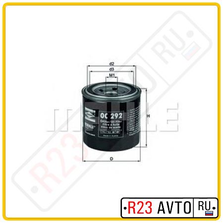 Масляный фильтр KNECHT OC292