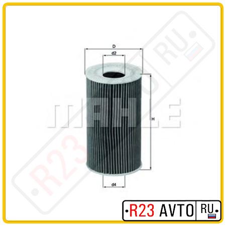 Масляный фильтр KNECHT OX128/1D