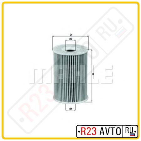 Масляный фильтр KNECHT OX135/1D