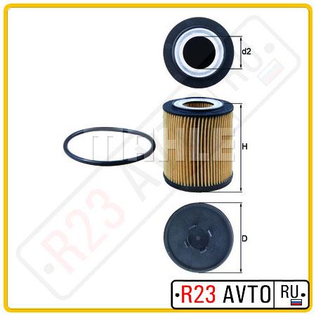 Масляный фильтр KNECHT OX182D