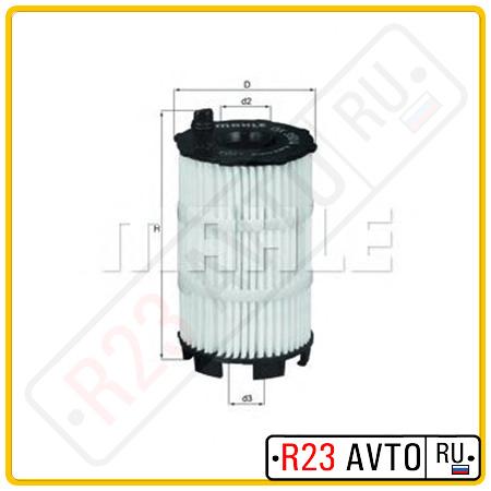 Масляный фильтр KNECHT OX350/4D