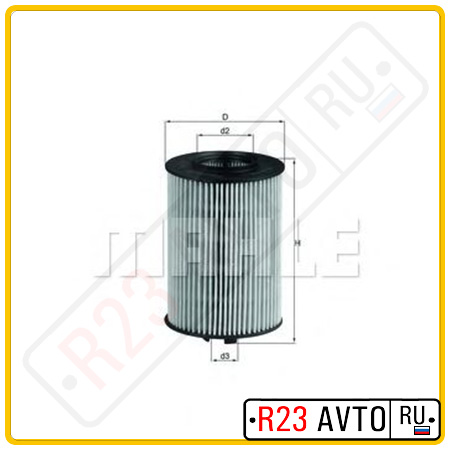 Масляный фильтр KNECHT OX382D