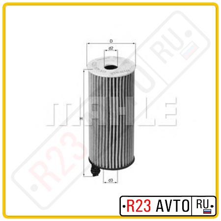Масляный фильтр KNECHT OX404D