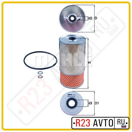 Масляный фильтр KNECHT OX78D