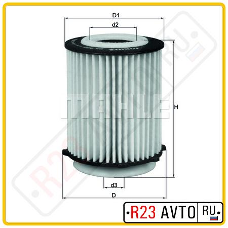 Масляный фильтр KNECHT OX982D