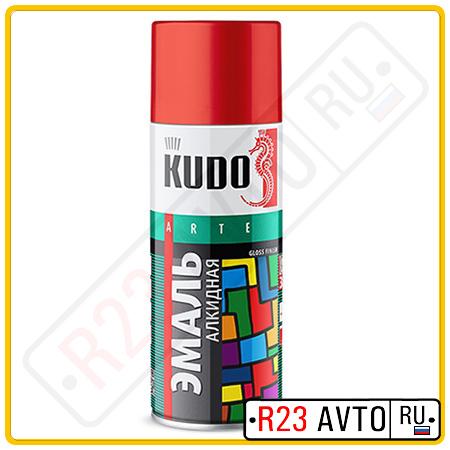 Эмаль аэрозоль KUDO KU1001 Белая глянцевая (520ml)