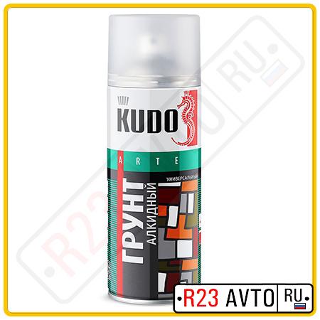 Грунт аэрозоль KUDO KU2004 Белый (520ml)