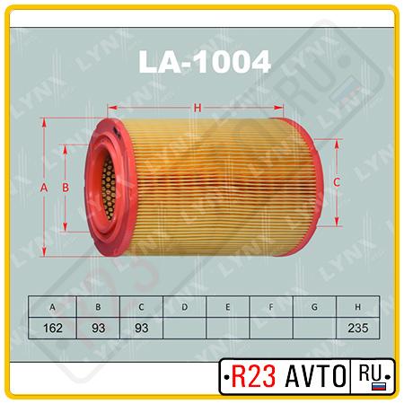 Воздушный фильтр LYNX LA-1004