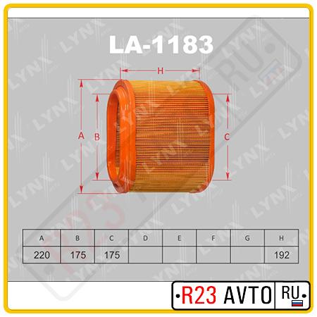 Воздушный фильтр LYNX LA-1183 (HYUNDAI Starex)