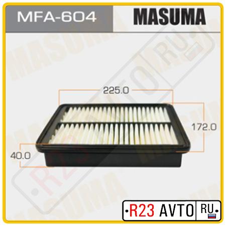 Воздушный фильтр MASUMA MFA-604 (MAZDA)