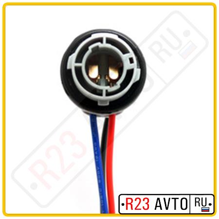 UNI Колодка для ламп P21/5W [BAY15d] Задний фонарь