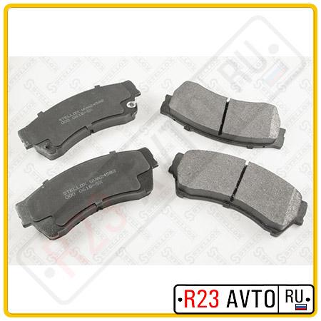 Колодки тормозные передние STELLOX 000 061B-SX <GPYB3323ZD> (MAZDA 6)