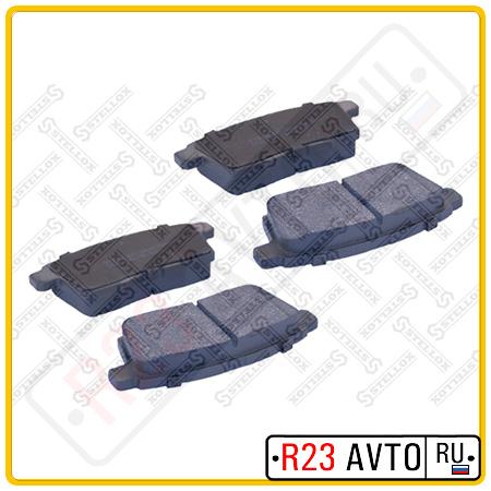 Колодки тормозные задние STELLOX 000 067B-SX <L2Y72643Z> (Mazda CX-7, CX-9)