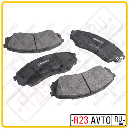 Колодки тормозные передние STELLOX 000 079B-SX <581014HA50>