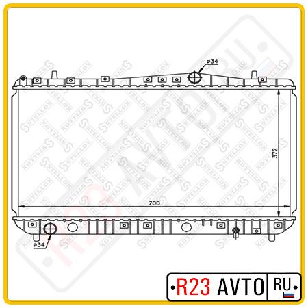 Радиатор STELLOX 10-25191-SX (CHEVROLET Lacetti)