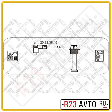 Провода высоковольтные STELLOX 10-38143-SX <1052493> (FORD Mondeo, Fiesta, Escort)
