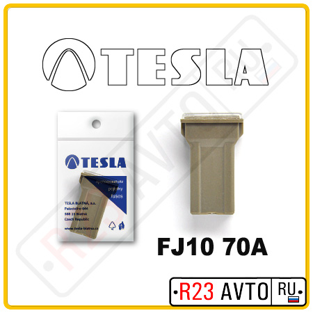 Предохранитель TESLA FJ10 70A