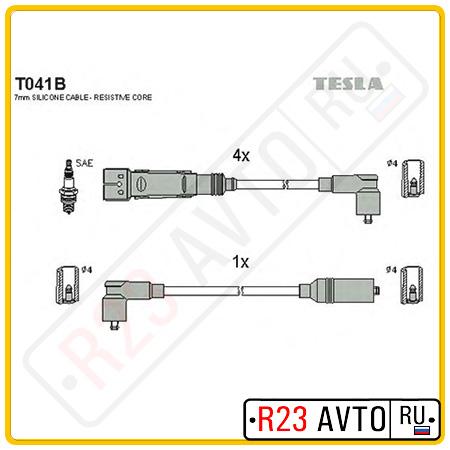 Провода высоковольтные TESLA T041B