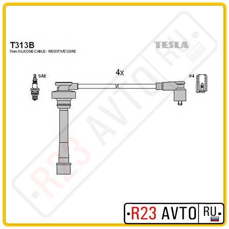 Провода высоковольтные TESLA T313B (CHERY Tiggo)