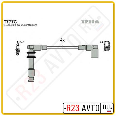 Провода высоковольтные TESLA T777C (OPEL Astra F, Omega B)