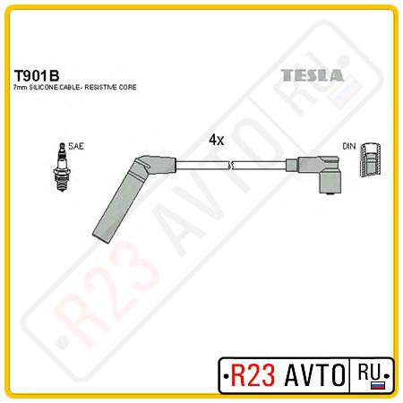 Провода высоковольтные TESLA T901B (MITSUBISHI Lancer, Colt)