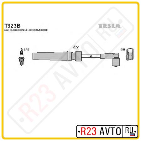 Провода высоковольтные TESLA T923B (CHEVROLET Lachetti/DAEWOO Nubira 1.4/1.6L 03-)