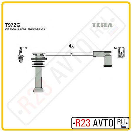 Провода высоковольтные TESLA T972G (FORD Focus 2 04-)