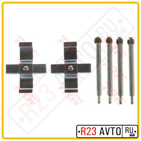Ремкомплект дисковых колодок TRW PFK561 (задних) MERCEDES-BENZ