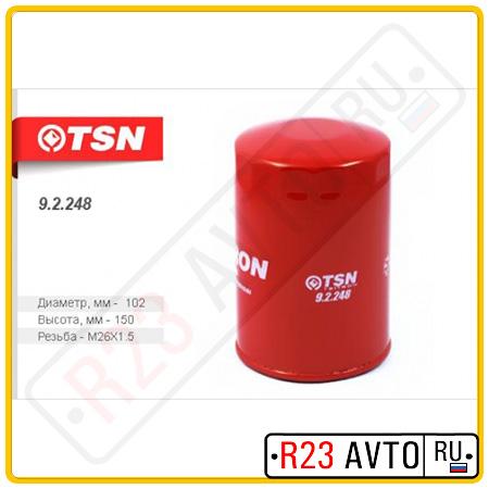 Масляный фильтр TSN 9.2.248