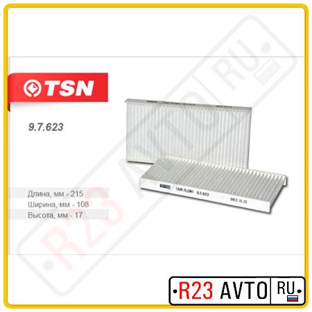 Фильтр салона TSN 9.7.623 (2X)
