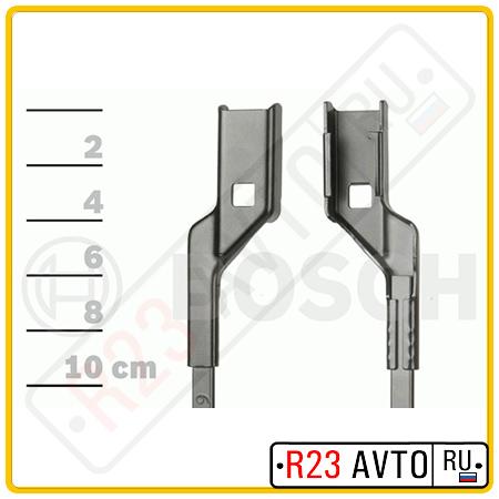 Щетка стеклоочистителя BOSCH 3 397 007 555 <A555S> [600/400] (VW Polo V HB, AUDI A1)